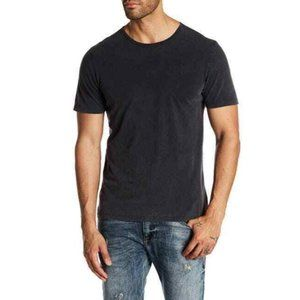 Robert Barakett Men's Washed Black Kentville Tee